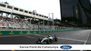 El circuito de bakú acoge el GP de Azerbaiyán de F1
