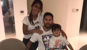Messi, en la fiesta de su cumpleaños