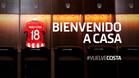 Así anunció el Atléticoel fichaje de Diego Costa