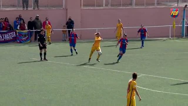 El Barça femenino vencé sufriendo ante el Levante
