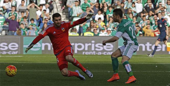 Betis, 1 - Valencia, 0