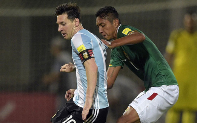 Bolivia pierde a Galindo por lesión y llama a Algarañaz