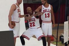 Gasol disfrut� del Media Day de los Bulls