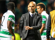 Guardiola, a la conclusi�n del Celtic-City
