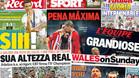 Zidane y la und�cima copan todas las portadas