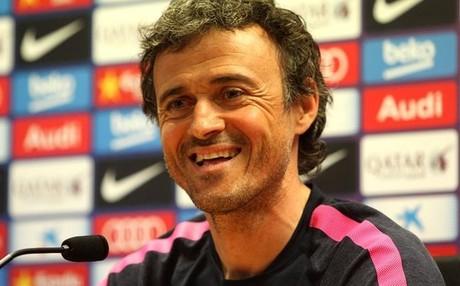 Luis Enrique Mart�nez espera que el Bar�a est� muy concentrado frente al Espanyol