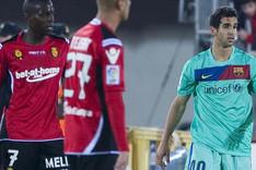 Montoya debut� hoy hace cuatro a�os, en un Mallorca-Bar�a (0-3)