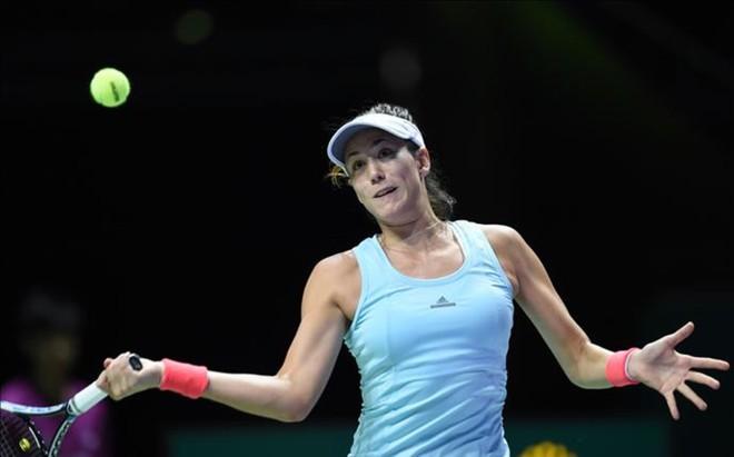Muguruza cerr� su participaci�n en el Masters con victoria