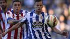 Oriol Riera seguirá defendiendo la camiseta del Deportivo las próximas temporadas