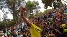 Pato se hizo un 'selfie' con los aficionados que acudieron a su presentación