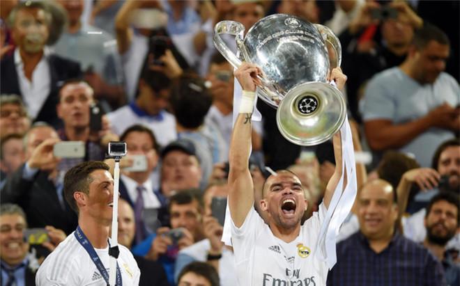 Pepe, con la Champions