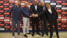 Presentaci�n de Andreu Plaza como nuevo entrenador del Bar�a Lassa