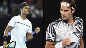 Rafa Nadal y Roger Federer vuelven a verse las caras en una final seis años después