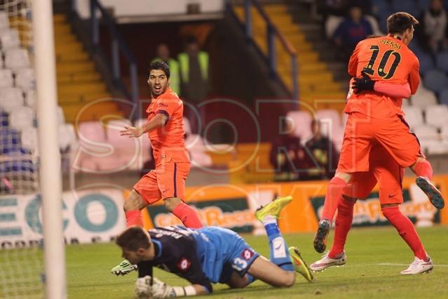 صور : مباراة ديبورتيفو لاكورونيا - برشلونة 0-4 ( 18-01-2015 )  1421614440205