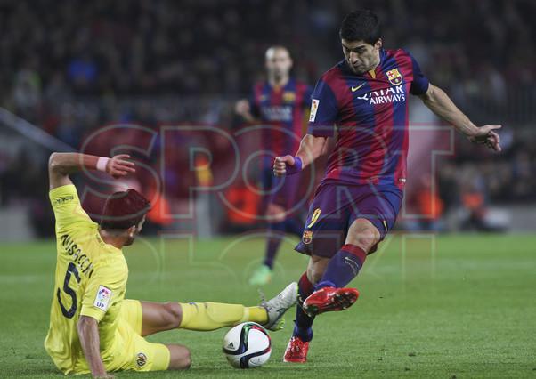 صور : مباراة برشلونة - فياريال 3-1 ( 11-02-2015 ) 1423690343805