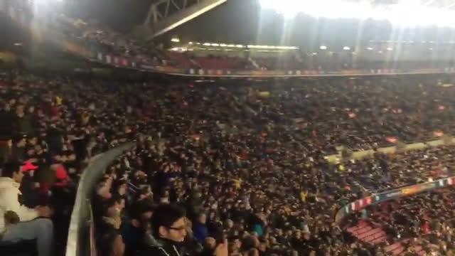 Los cánticos del Camp Nou a Cheryshev
