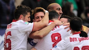 Pamplona vio al mejor Sevilla de la historia