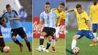 Betancur, Ascacibar y Caio Henrique, tres jugadores llamados a tener un gran protagonismo en el Campeonato Sudamericano Sub-20 de Ecuador, previo al Mundial de la categoría del próximo mes de mayo en Corea del Sur