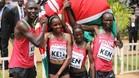 El relevo keniano, primer campeón mundial de cross de la historia
