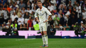 Cristiano Ronaldo no escondió su frustración tras el 2-3 de Messi
