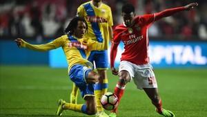 Nelson Semedo ha sido uno de los baluartes del Benfica