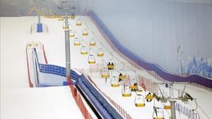 wanda esquí indoor