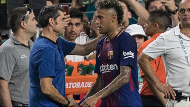 Valverde dio tres días de descanso a la plantilla