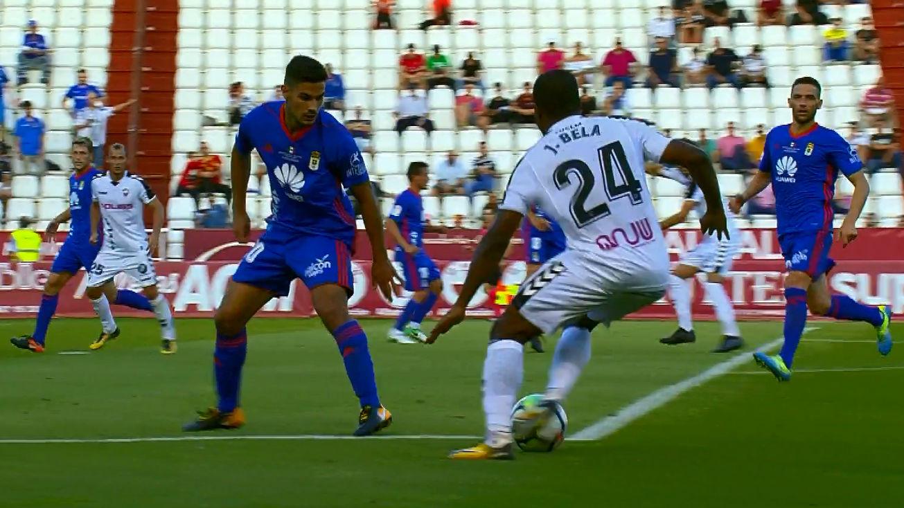 LALIGA 123 | Albacete-Oviedo (2-1): El gol de Bela que puso el 1-1
