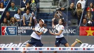 Tenorio y Marrero, finalistas en el torneo de Andorra
