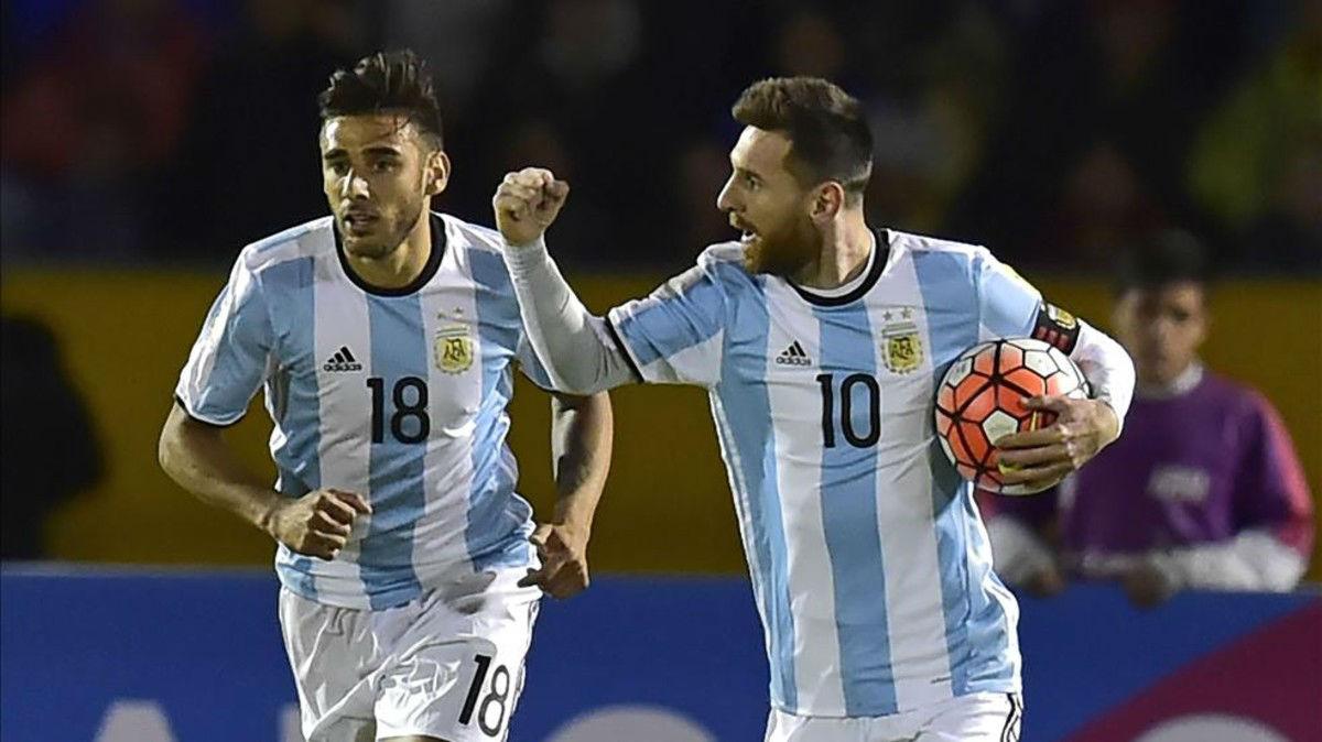 Ecuador-Argentina (1-3))