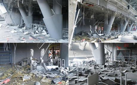 As� qued� el Donbass Arena tras el bombardeo