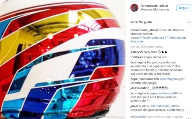 As� ser� el nuevo casco de Fernando Alonso