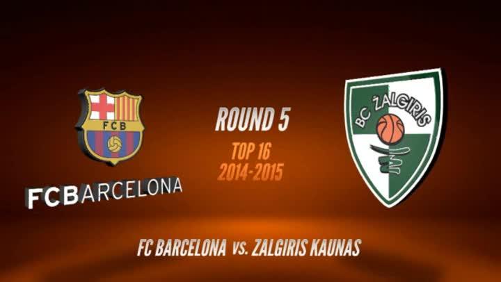 El Barça sumó con autoridad su tercera victoria a costa del Zalgiris