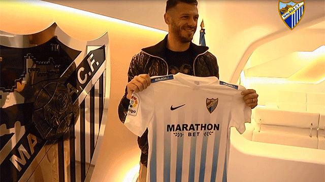 Demichelis firma con el Málaga hasta final de temporada