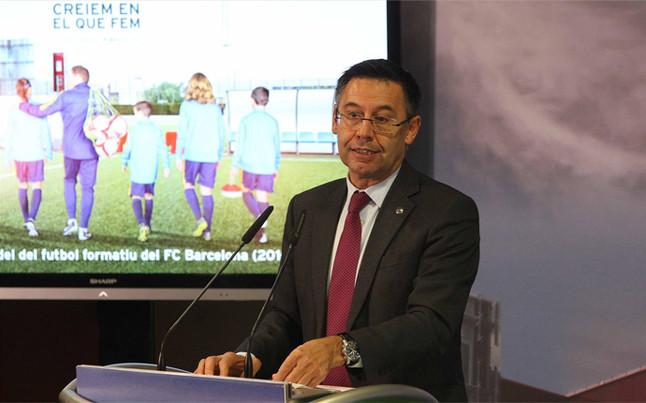 """El Bar�a presenta un modelo formativo """"renovado"""""""