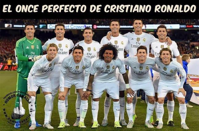 Los memes sobre Cristiano Ronaldo que triunfan en la red