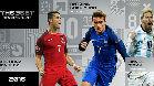 Messi, Cristiano Ronaldo y Griezmann, finalistas al premio 'The Best' de la FIFA