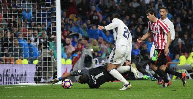 V�deo resumen Real Madrid - Athletic Club (2-1). Jornada 9, Liga Santander 2016/17