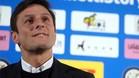 Zanetti le desea muchos �xitos a Banega en el Inter