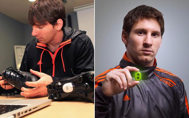 Messi Jugará con Chips en sus Botas