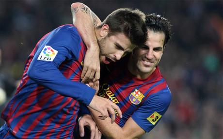 Guardiola podrá contar con Piqué en el Bernabéu 1322824926515