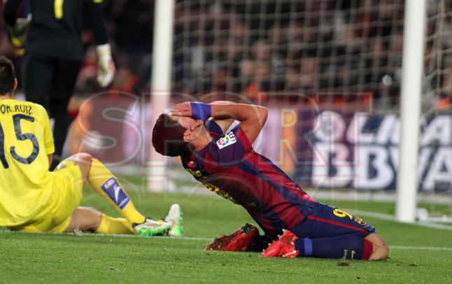 صور : مباراة برشلونة - فياريال 3-1 ( 11-02-2015 ) 1423690283315