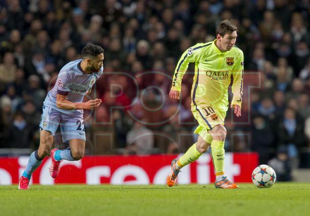 صور : مباراة مانشستر سيتي - برشلونة 1-2 ( 24-02-2015 )  1424816350215