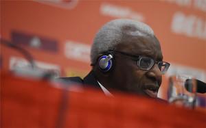 Lamine Diack, expresidente de la IAAF