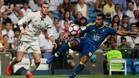 El Celta plantó cara en el partido de Liga en el Bernabéu