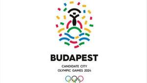 Logo de la candidatura de Budapest a los JJ.OO. de 2024
