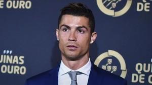Cristiano Ronaldo, premiado en Portugal