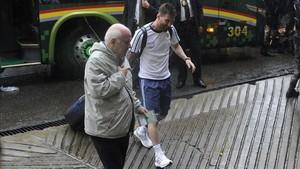 Messi cumplió su primer partido de sanción ante Bolivia