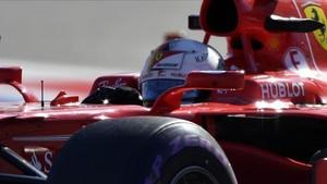 Sebastian Vettel y su Ferrari se mantienen muy fuertes