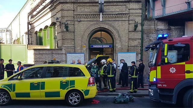 Resultado de imagen de EXPLOSIÓN EN LONDRES